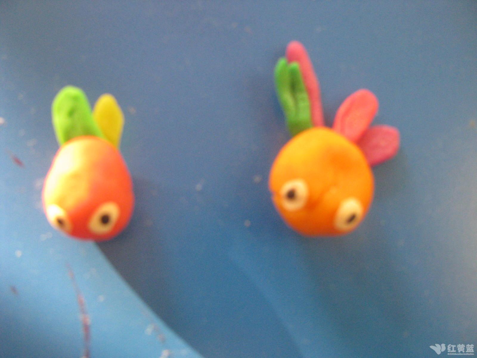 塑料鱼手工制作图片