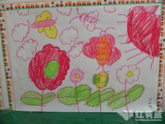 三只蝴蝶 _ 红黄蓝|早教|早教中心