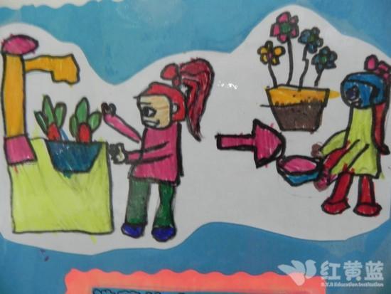 水源图片儿童画