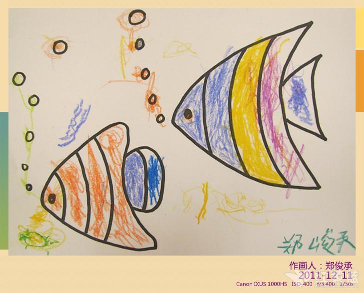 泡泡里的世界儿童画