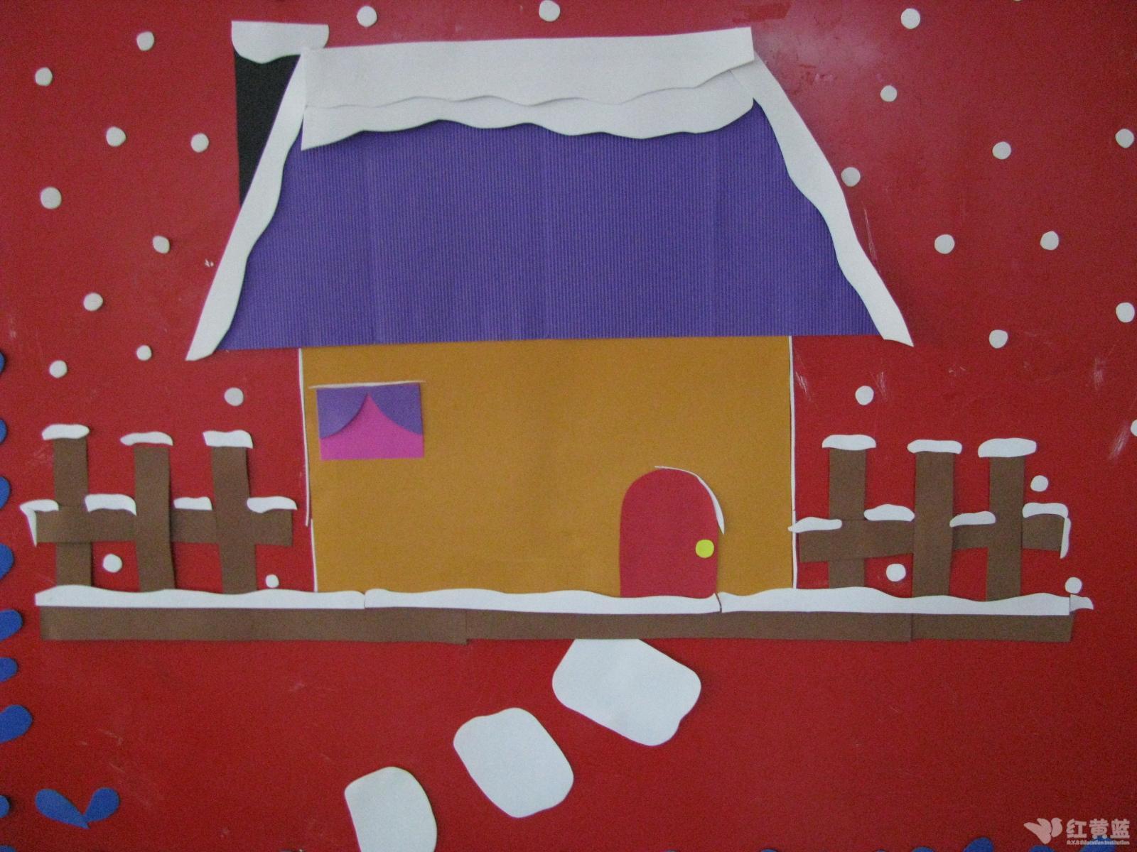 图画大全房子简笔画图片大全;-雪房子简笔画图片