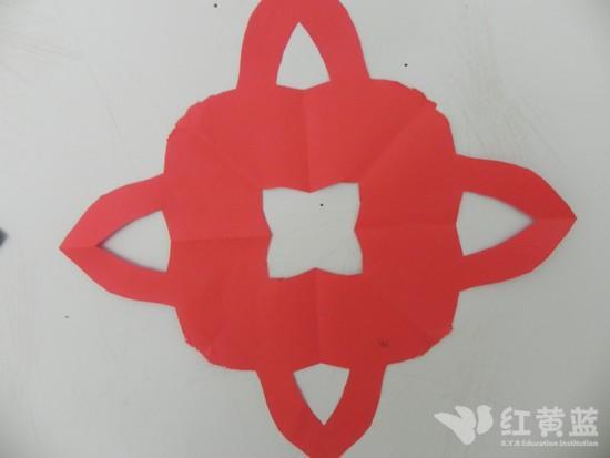 幼儿园中班剪纸目标
