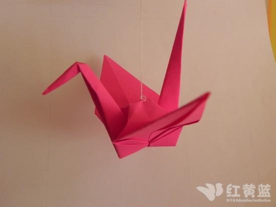 儿童手工制作大全图解千纸鹤