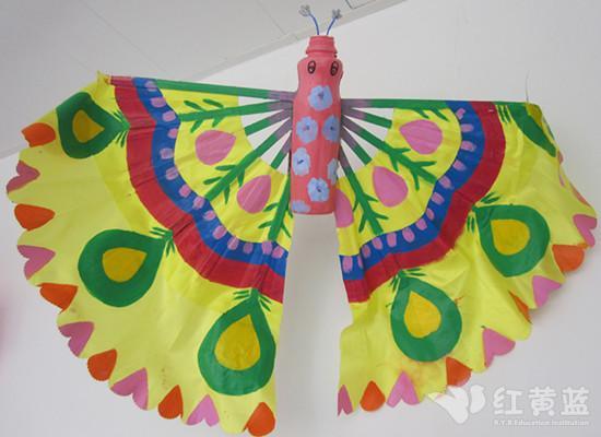 幼儿园蝴蝶风筝手工制作