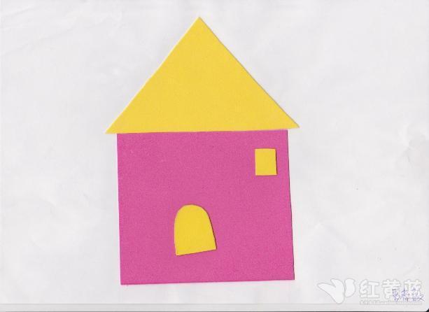 宝宝作品-小房子