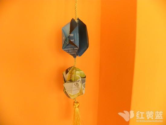 手工折纸灯笼