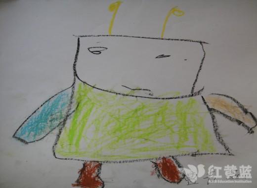 绘画 神奇的机器人