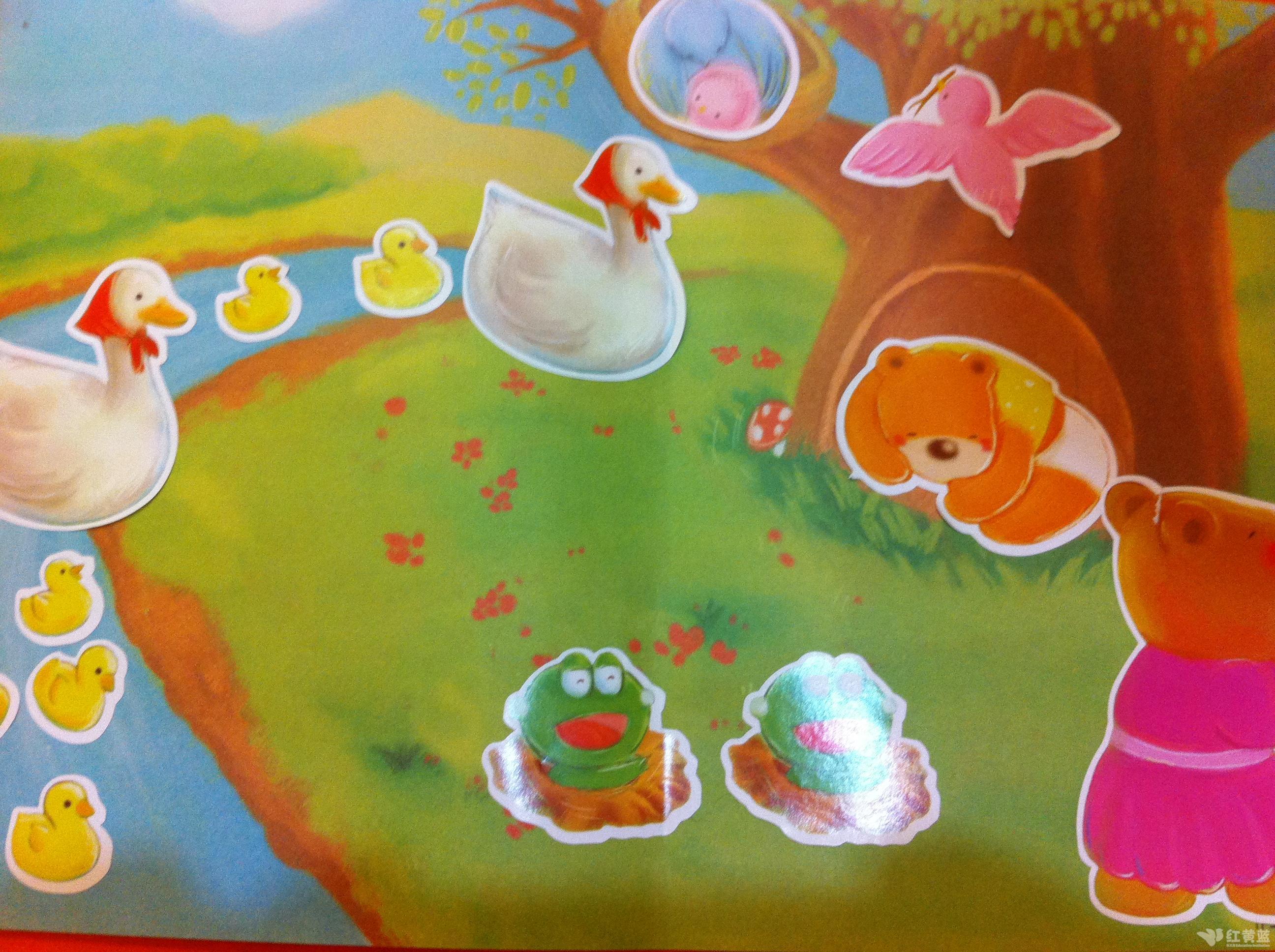 大家知道春天来了,森林乐园的小动物都在干什么呢?