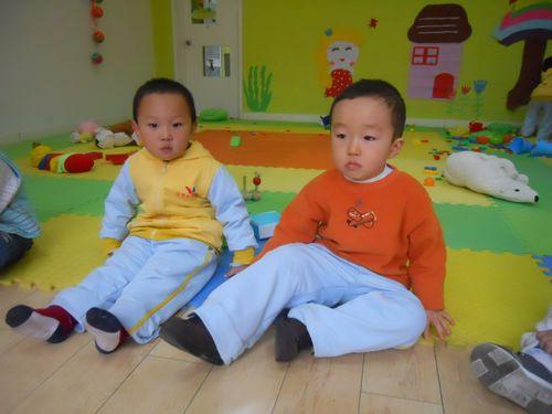 上幼儿园的第一天----粉三班