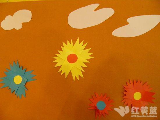 纸贴画 _ 红黄蓝|早教|早教中心