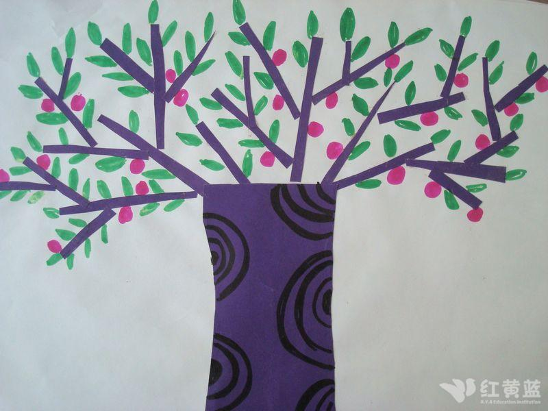 手工-----小树图片