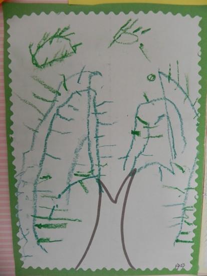 柳树画法儿童简笔画