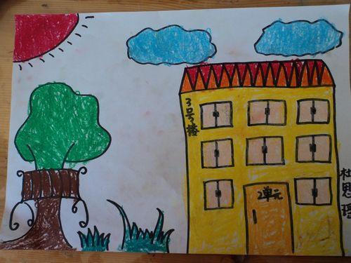 我美丽的小区 _ 红黄蓝|早教|早教中心图片