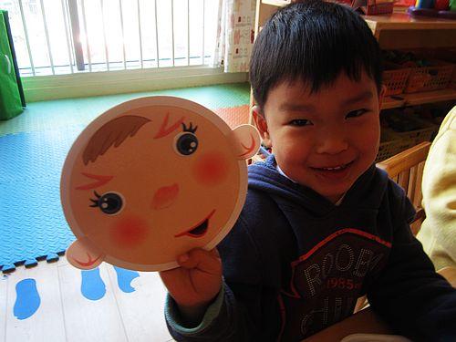 可爱的笑脸——红二班