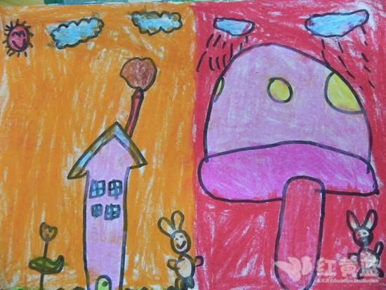 漂亮的小房子 _ 红黄蓝|早教|早教中心