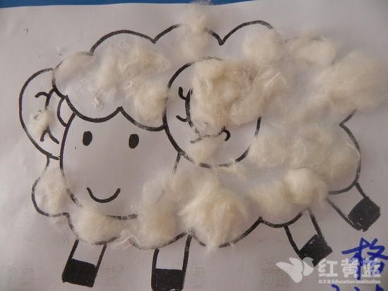 儿童画画大全小羊