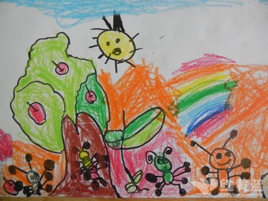 可爱的小蚂蚁 _ 红黄蓝|早教|早教中心