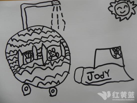 儿童画 简笔画 手绘 线稿 550_413