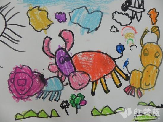 幼儿画可爱的小牛图片