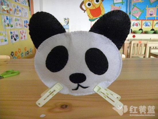 可爱的大熊猫 _ 红黄蓝|早教|早教中心