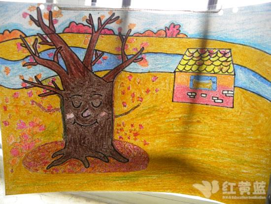 幼儿园秋天简笔画