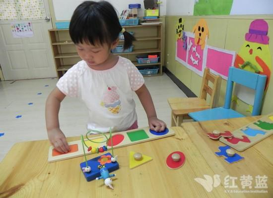 幼儿园的玩具真好玩