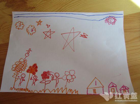 幼兒園大班剪貼畫作品