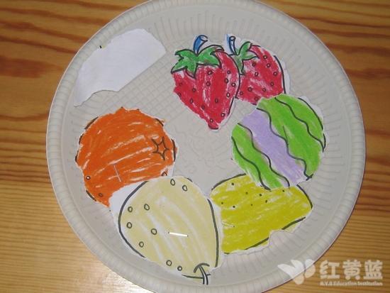 水果拼盘 _ 红黄蓝|早教|早教中心