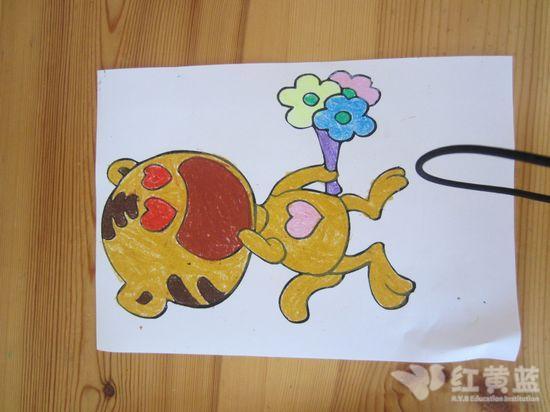 二年级的森林动物画