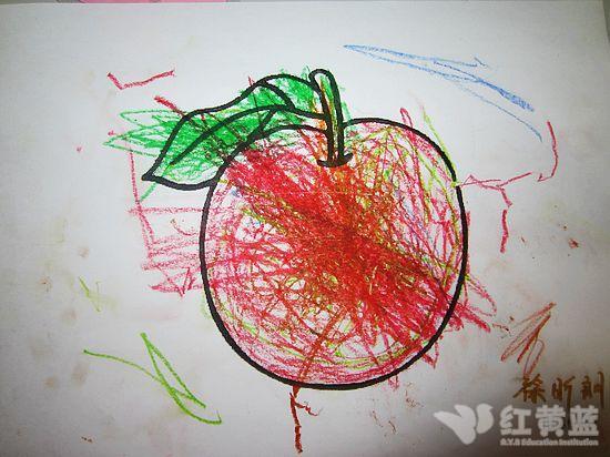 可爱的大苹果