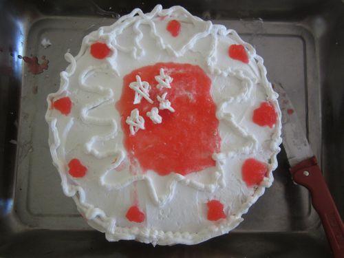 国庆蛋糕儿童画