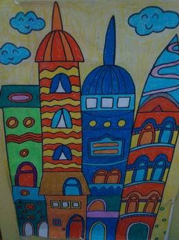 美术作品---幼儿园 _ 红黄蓝|早教|早教中心