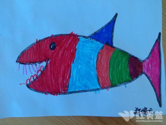 鲨鱼风筝的步骤图片