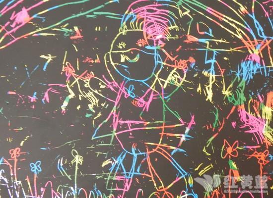 六一儿童节优秀刮画