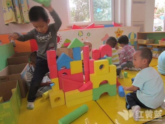 我搭建的幼儿园!
