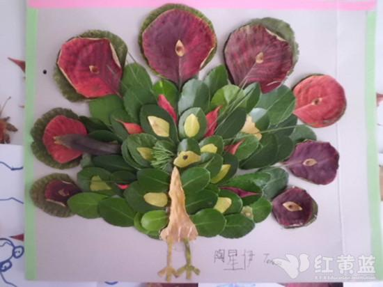 这个秋季跟孩子一起DIY树叶贴画! - 小樱桃 - 溧阳市实验幼儿园小(5)班