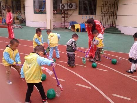 儿园自制玩具活动
