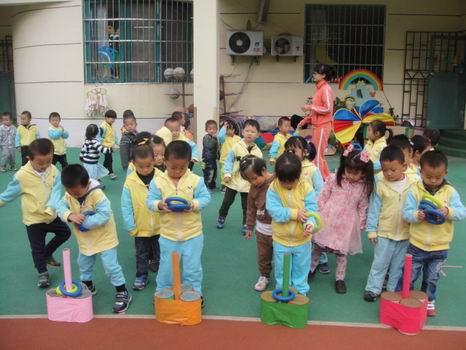 创意无限---青岛红黄蓝春之都幼儿园户外