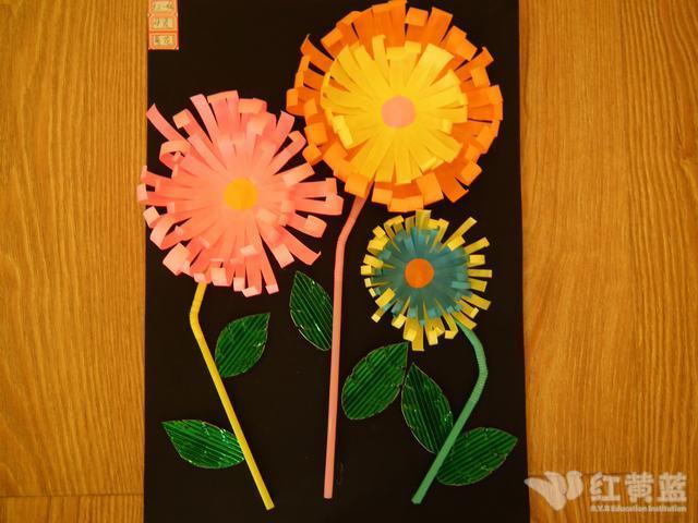 幼儿园教师手工作品展