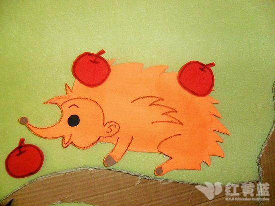 小刺猬在背果子
