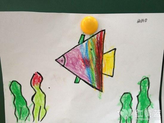 美丽天津简单儿童画