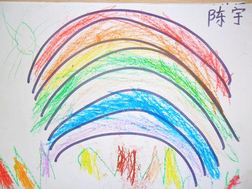 漂亮彩虹图片