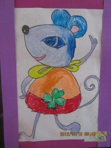 可爱的小老鼠