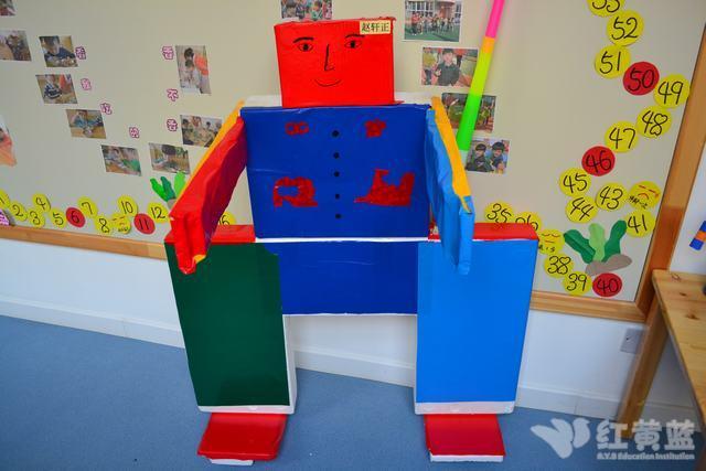 幼儿园机器人手工制作图片