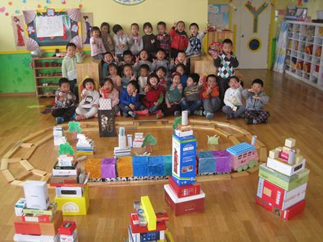 青岛红黄蓝万福幼儿园——中大班文化节活动