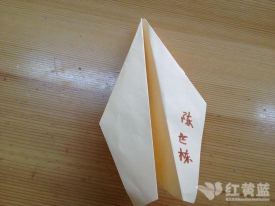 我们折的纸飞机