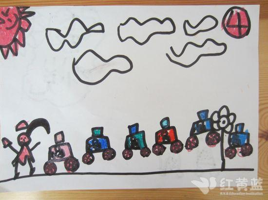 绘画作品 _ 红黄蓝|早教|早教中心