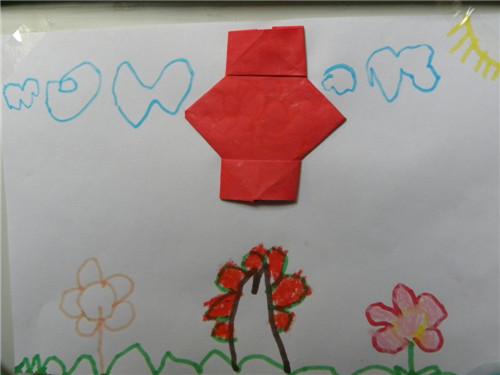 折纸灯笼 _ 红黄蓝|早教|早教中心