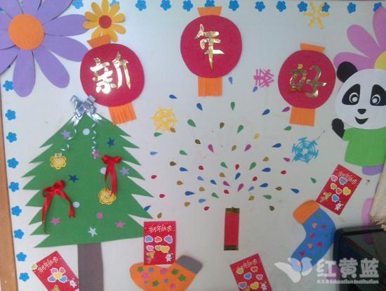 儿童新年主题画