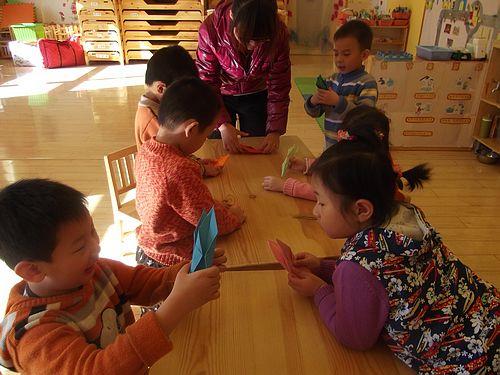 折小船 _ 红黄蓝|早教|早教中心